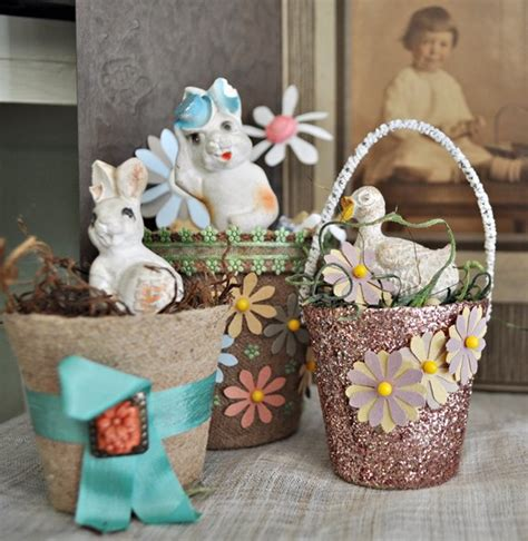 this year s vintage easter decorations just vintage home