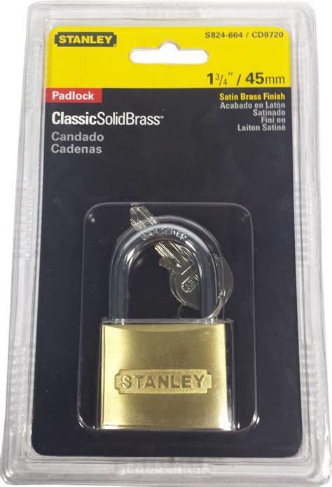 Gembok Kuningan 35mm Solid Brass Padlock Stanley 1 stanley cd8720 solid brass padlock padlocks lockout devices horme singapore