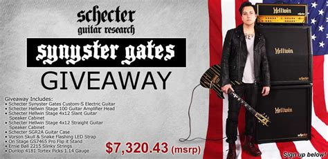 American Musical Supply Giveaway - american musical supply s schecter giveaway by foreverjimmysullivan on deviantart