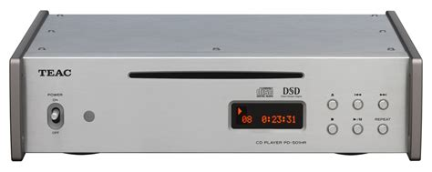 audio format to play on cd player pd 501hr teac