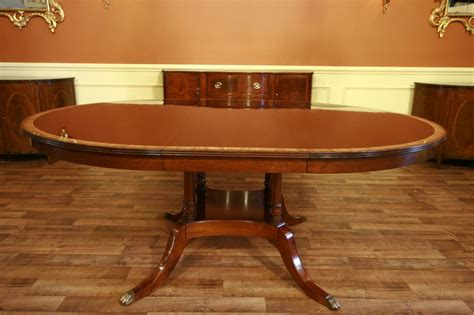 oval dining table with leaf 64 to oval mahogany dining table with leaf ebay