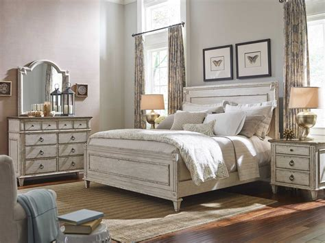american bedroom furniture american drew bob mackie home sleigh bed 661 305r at
