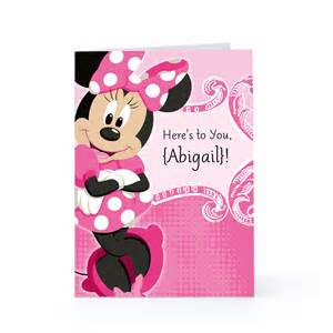 minnie mouse birthday cards minnie mouse birthday quotes quotesgram