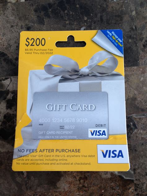 Visa Gift Card Fees Walmart - cash gift cards with no fees myideasbedroom com
