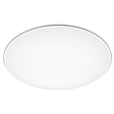 vibia 0530 big flush ceiling light in chrome with acrylic