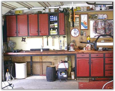 old cabinetry workshop