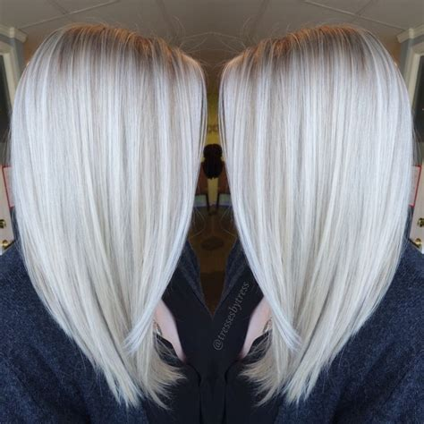 pictures of white hair with lowlights best 25 white blonde highlights ideas on pinterest