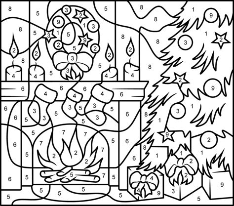 coloring pages by numbers for christmas princess of egypt printable color by number page hard