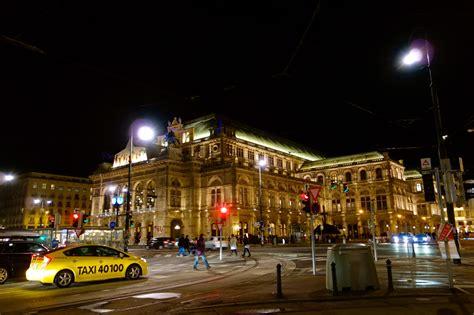 vienna opera house vienna opera house stretching into infinity