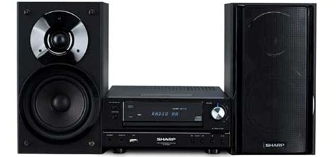 Tv Sharp Speaker sharp xl hf200ph mini audio set avblog hifi audio luidsprekers hdtv tv hdmi