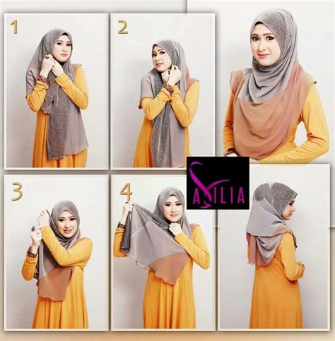 tutorial halfmoon qaira hijab half moon hijab style n tutorial pinterest hijabs