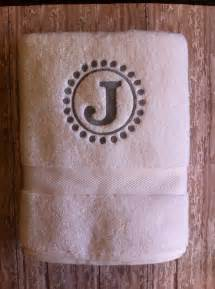 bath towels monogrammed 25 best monogram towels ideas on embroidered
