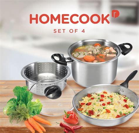 Homecook Set Jual Homecook 4 Cookware Set Of 4 Produk