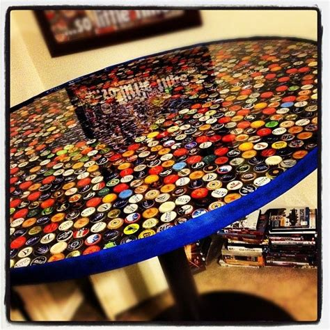 beer cap bar top 17 best images about beer cap bar table on pinterest bar