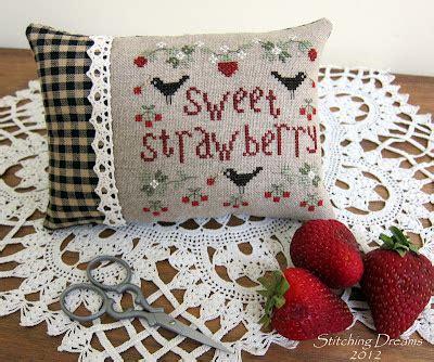 Sweet Pretty 3265 by Stitching Dreams Stitching Strawberries