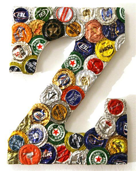 project 3 week 3 jumbo bottle cap letter the 3 r s blog