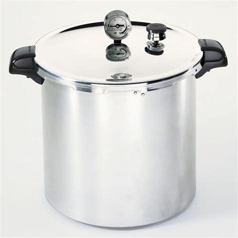 presto 23 qt pressure cooker canner