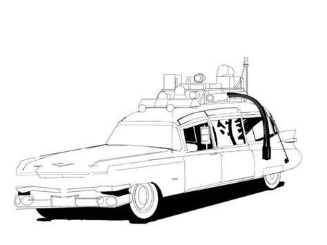 ghostbusters car coloring pages ghostbuster car coloring pages printable ghostbuster
