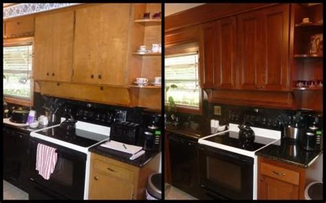 refinish kitchen cabinets before and after pin by re nee packard vlasma on for the home pinterest