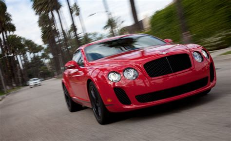 bentley super sport 2010 bentley continental supersports instrumented test