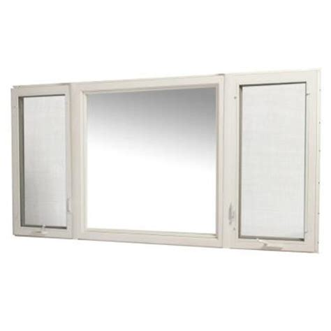 home depot awning window tafco windows white vinyl casement window with screen