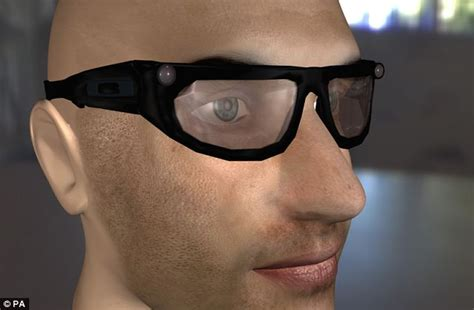 Glasses For Blind smart spectacles to help the blind see high tech