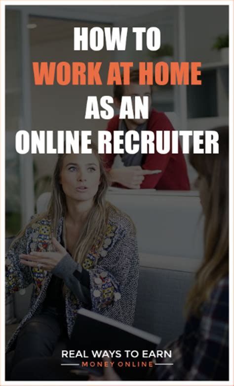 work from home recruiter how to make money as an recruiter for indeed crowd