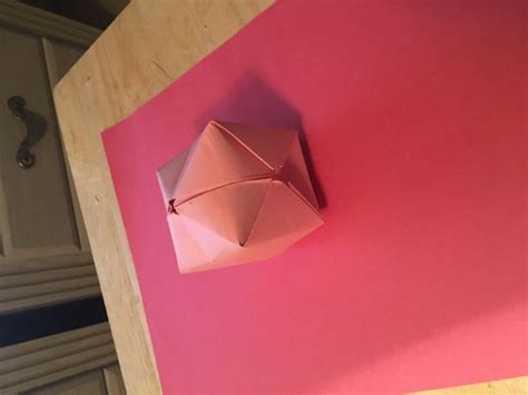 How To Make Origami Balloons - how to make an origami balloon 8 steps with pictures