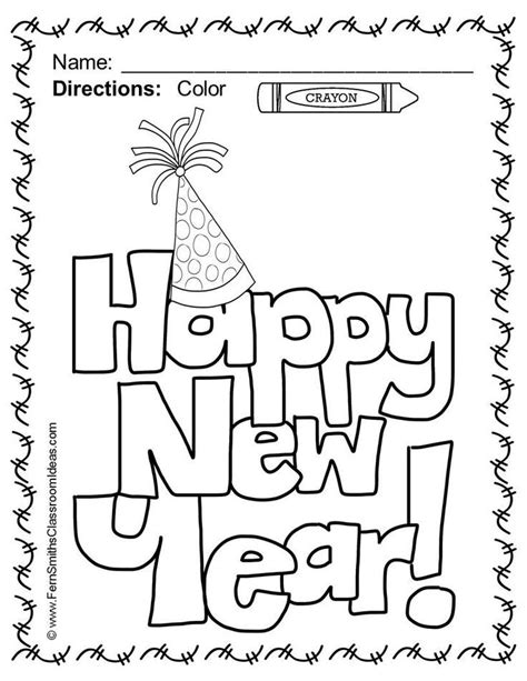 why is the new year color happy new year 2017 coloring pages coloring home