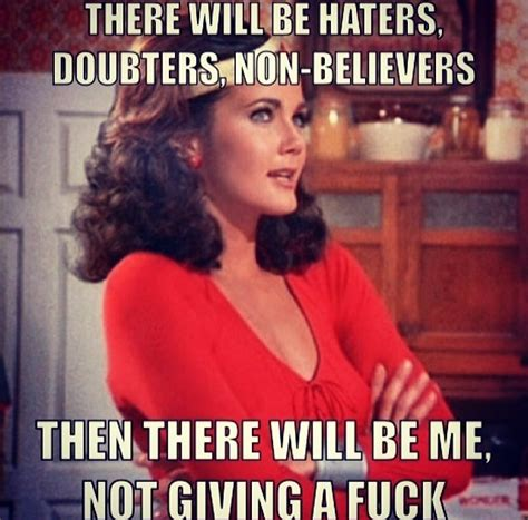 Funny Hater Memes - there will be haters loll wonder woman friends and