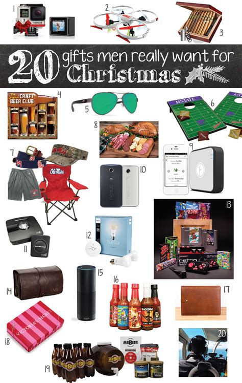 20 gifts men really want for christmas c makery