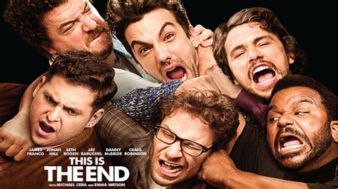 Film It Is The End | this is the end movie poster review