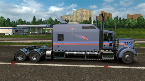 trucking companies with kenworth w900 kenworth w900 long euro truck simulator 2 mods