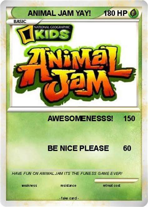 Animal Jam Gift Card - animal jam pokemon cards