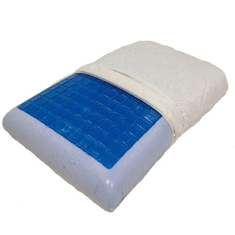 Memory Foam Cooling Gel Pillow by King Cool Gel Memory Foam Pillow By Royal Tradition Each