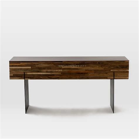 elm mixed wood coffee table mixed wood console elm