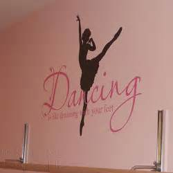 exceptional Girl Wall Decorations For Bedroom #9: -font-b-Quotes-b-font-font-b-Ballet-b-font-Ballerina-Wall-Sticker-Dance-Dreaming.jpg