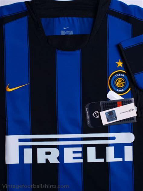 Sweater Inter Milan 04 2003 04 inter milan home shirt bnwt for sale