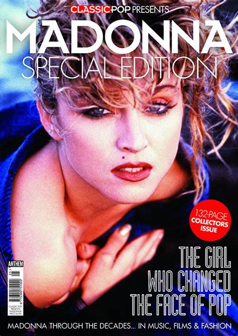 Magazine Presents News Of The Day by Classic Pop Presents Madonna Madonnatribe