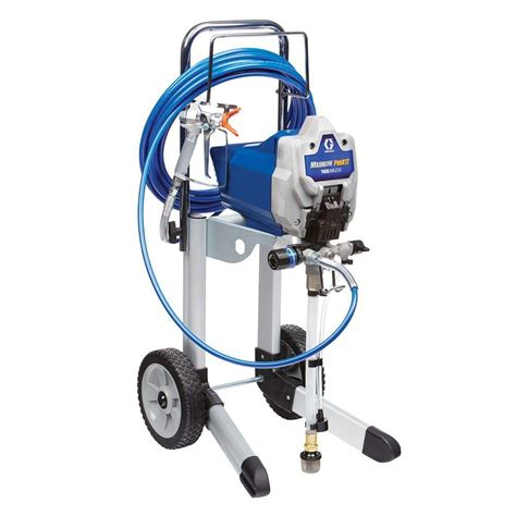 using a home depot paint sprayer graco truecoat 360 airless paint sprayer 16y385 the home