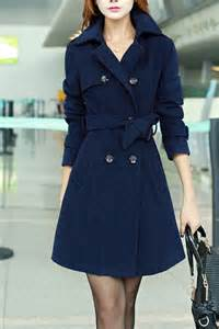 modern ladies winter coat with bow belt wrap ideas