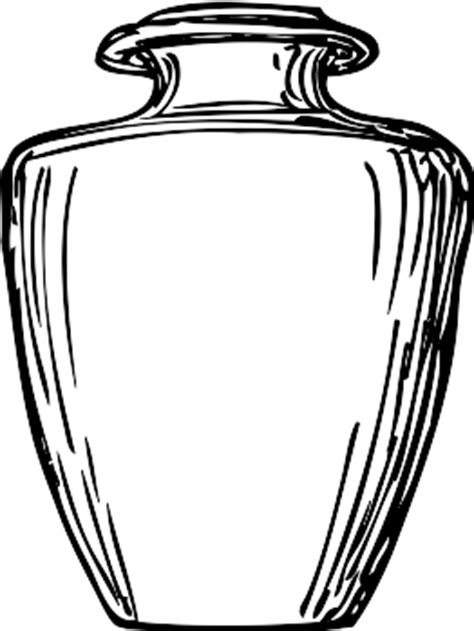 Water Pot Outline by Vector Clip Clipart Panda Free Clipart Images
