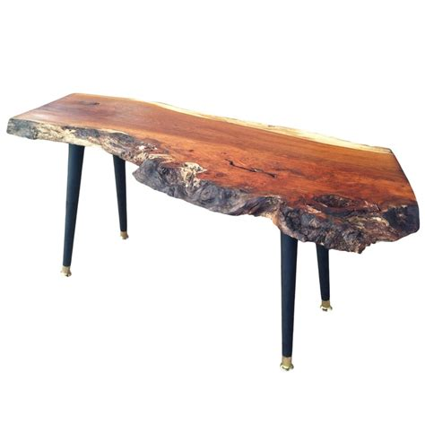 Wood Slab Coffee Table 17 Best Images About Slab Wood Coffee Tables On Pinterest Furniture Legs And Midcentury Modern