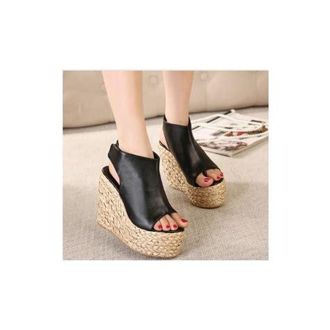 chaussures été femme chaussures chaussure femme talon haut compens 233 escarpins