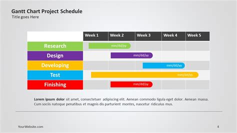 powerpoint schedule slide gse bookbinder co