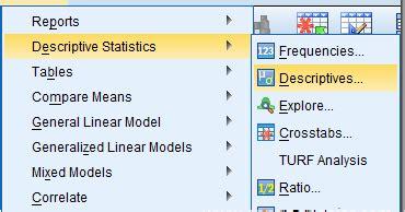tutorial spss distribusi frekuensi menghitung nilai rata rata dan standar deviasi dengan spss