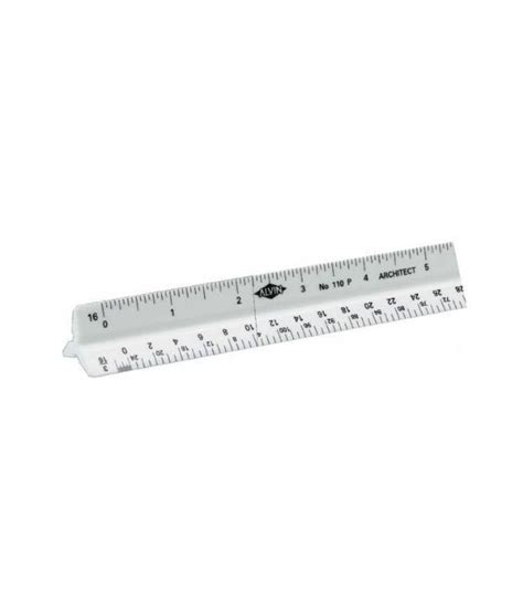 Alvin 610a Architects Scale Plastic by Alvin Architects Triangular Scale Buy At Best