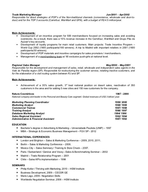 Sle Resume For Regional Sales Director 100 Sales Manager Resume Regional Manager Resume Sle 28 Images District Manager Resume Resume