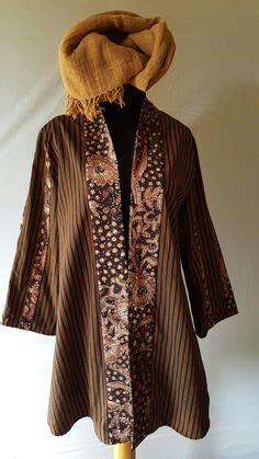 seragam batik cristine creation batik kerja wanita blus batik cantik lengan panjang