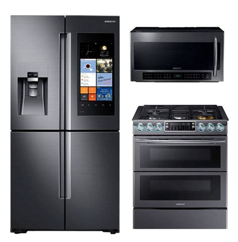 samsung stainless steel complete kitchen package 100